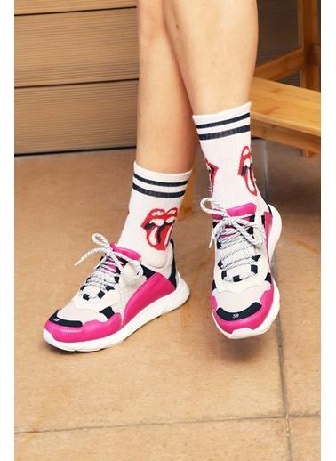 Baqmaq Sneakers Fuşya